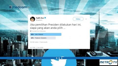 Q & A - Fadli Zon Ragu Rakyat Puas Terhadap Kinerja Jokowi