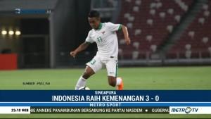 Indonesia U-23 Raih Kemenangan 3-0 atas Singapura