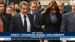 Mantan Presiden Perancis Sarkozy Diinterogasi Terkait Skandal Dana Kampanye