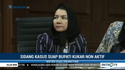Saksi Akui Ada Uang Pemulus Perizinan Proyek di Kukar
