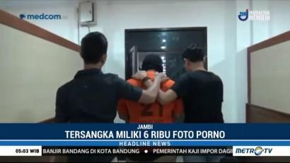 Polisi Temukan Ribuan Konten Asusila di <i>Handphone</i> Pelaku Pelecehan Seksual