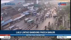 Pascabanjir, Arus Lalin Ujung Berung-Cicadas Padat