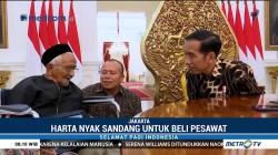 Penyumbang Dana Pesawat Pertama RI Bertemu Jokowi