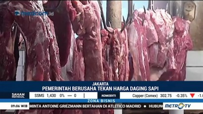 Pemerintah Kaji Rencana Impor Daging Sapi dari Brasil
