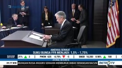 The Fed Naikkan Tingkat Suku Bunga Acuan