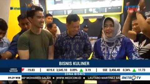 Kaesang Buka Outlet Kuliner Pisang di Lampung