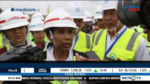 Molor, Kereta Cepat Jakarta-Bandung Baru Selesai 2020