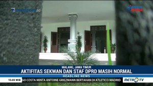 18 Anggota Jadi Tersangka, Gedung DPRD Malang Lengang