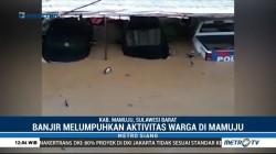 Aktivitas Warga Mamuju Lumpuh Akibat Banjir