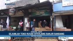 Pedagang Korban Banjir di Bandung Merugi Hingga Ratusan Juta Rupiah