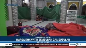 Gunung Ijen Semburkan Gas Beracun, Warga Mengungsi