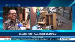 Alih Fungsi Lahan Penyebab Banjir Bandang di Bandung Utara