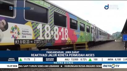 KAI akan Aktifkan Lagi Jalur Kereta Api Banjar-Pangandaran