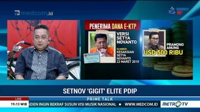 Setya Novanto 'Gigit' Elite PDIP