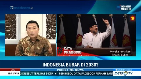 Istana Jawab Pernyataan Prabowo