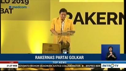 Golkar Komitmen Dukung Jokowi di Pilpres 2019