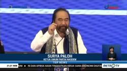 Soal Pernyataan Prabowo, Surya Paloh: Hati-Hati Memberikan <i>Statement</i>