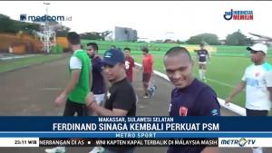 Ferdinand Sinaga Kembali Perkuat PSM
