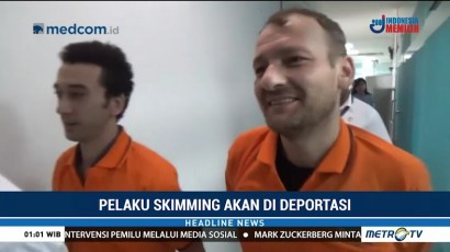 Imigrasi Makassar Deportasi Dua WN Turki Pelaku Skimming