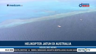Helikopter Jatuh di Australia, Dua Tewas