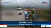 Banjir di Mamuju Mulai Surut