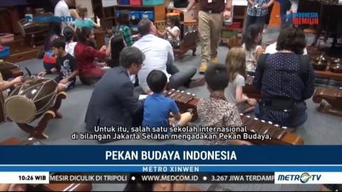 Pekan Budaya Indonesia di Sekolah Internasional Jakarta