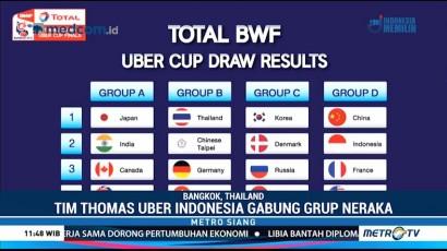 Tim Thomas dan Uber Indonesia Tergabung di Grup Neraka