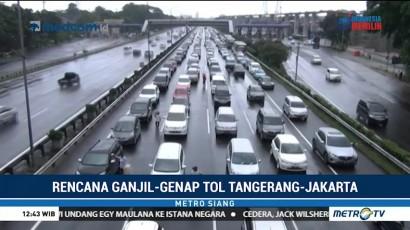 Aturan Ganjil Genap Bakal Diterapkan di Tol Tangerang-Jakarta