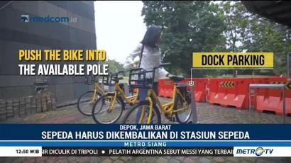 Sewa Sepeda dengan Aplikasi Ponsel Pintar
