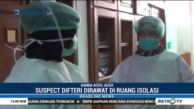 Seorang Bayi di Banda Aceh Terjangkit Difteri