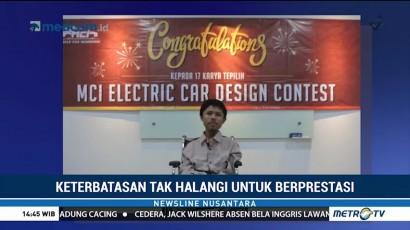 Mahasiswa Difabel Cetak Prestasi di Lomba Desain Mobil Listrik