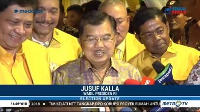 JK: Airlangga Hartarto Cocok Dampingi Jokowi