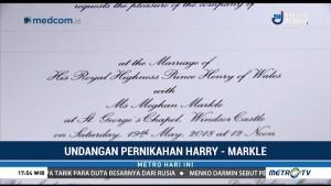 Pangeran Harry Mulai Menyebar Undangan Pernikahannya
