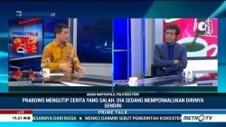 Soal Pidato Indonesia Bubar, Adian: Prabowo Sedang Mempermalukan Diri