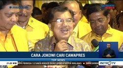 JK Dorong Kader Golkar Jadi Pendamping Jokowi