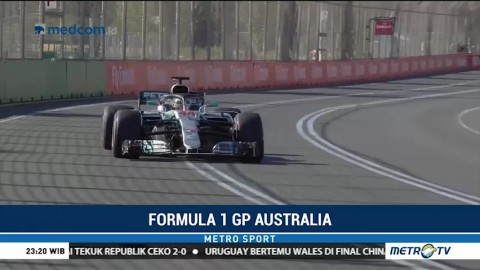 Hamilton Rajai Dua Sesi Latihan GP Australia