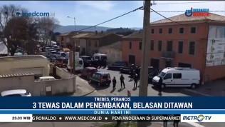 Tiga Orang Tewas dalam Insiden Penembakan di Perancis