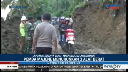 Jalan Trans Sulawesi Sudah Dapat Dilintasi