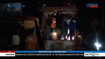 Banjir Surut, Warga Samarinda Kembali ke Rumah