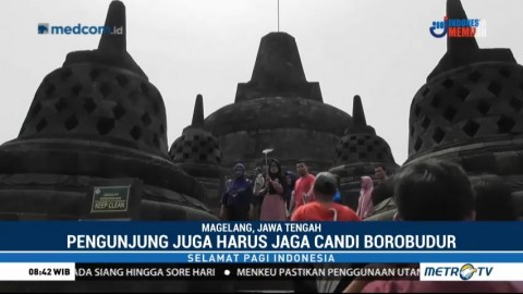 Merawat Pesona Candi Borobudur