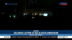 Earth Hour, Lampu di Balai Kota DKI Dipadamkan