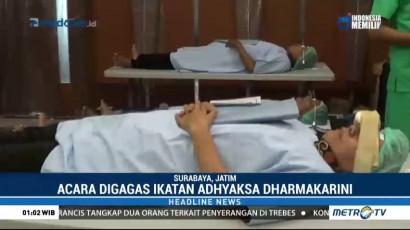 500 Warga Ikut Operasi Katarak Gratis dari Ikatan Adhyaksa Dharmakarini