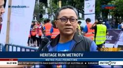 Ikuti Metro TV Heritage Run, Ketua MPR: Jaga Kesehatan Lebih Mudah dari Mengobati