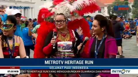 Keseruan Metro TV Heritage Run (2)
