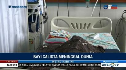 Jenazah Bayi Calista Dimakamkan