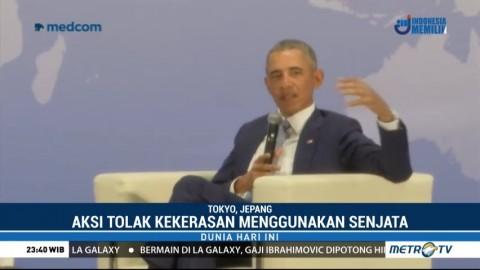 Barack Obama Apresiasi Aksi 'March for Our Lives'