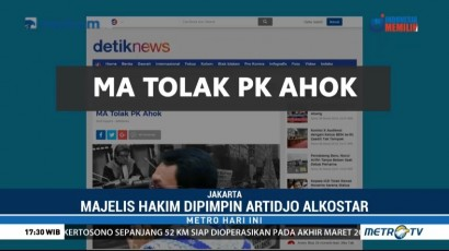 Mahkamah Agung Tolak PK Ahok