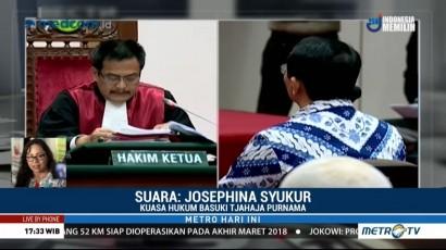 Kuasa Hukum Belum Terima Pemberitahuan Resmi soal Penolakan PK Ahok