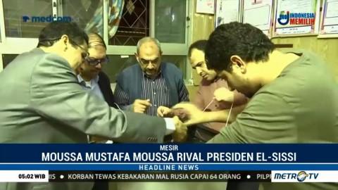 Mousa Mostafa Mousa Maju di Pilpres Mesir
