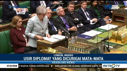 PM Inggris: 18 Negara Kompak Usir Diplomat Rusia